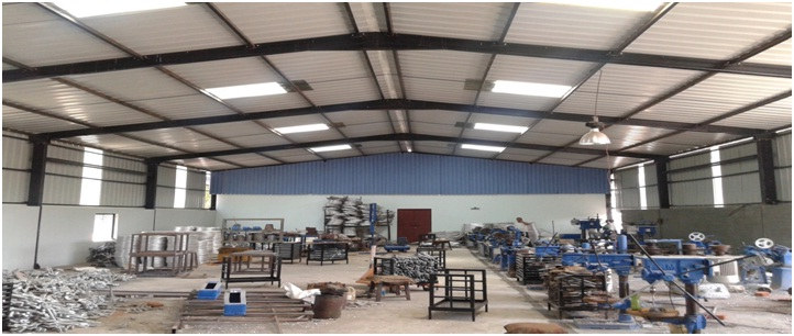 Conventional Industrial Shed Steel Structure